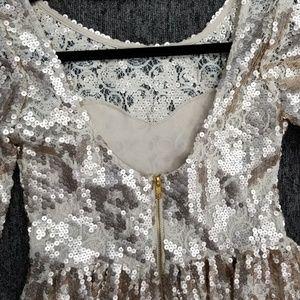 Gianni Bini Dresses - GB Gianni Bini 3/4 Sequin Dress, Size Small NWT